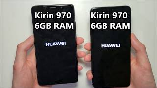 Huawei P20 Pro vs Huawei Mate 10 Speed Test (Quick Version)