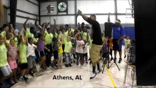Aaron Cole - Living That Life at Athens, AL Boys & Girls Club