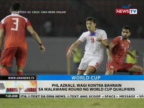 BT: PHL Azkals, wagi kontra Bahrain sa ikalawang round ng World Cup Qualifiers
