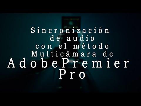 Sincronización de audio: Método Multicámara de Premier