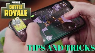 5 TIPS AND TRICKS FOR MOBILE FORTNITE! | HOW TO BECOME BETTER AT MOBILE FORTNITE | GREAT TIPS |