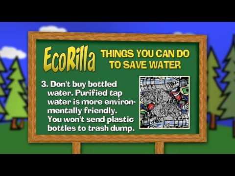 Help the Environment- The Adventures of EcoRilla Episode 1 - EcoWater Canada