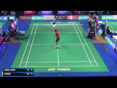 R32 - MS - Chen Long vs Viktor Axelsen - 2014 Badminton Denmark Open