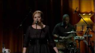 Adele - Right As Rain (Live HD) Itunes Festival 2011