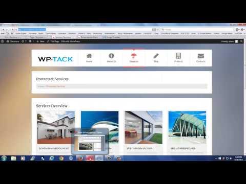 Cómo privar contenido y añadir protección, contraseñaa un  artículo o pagina en WordPress