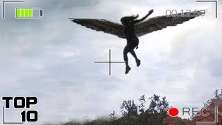 Top 10 Angels Caught On Tape Flying
