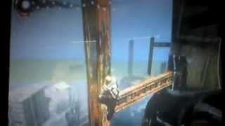 Climbing Tallest Building in Infamous