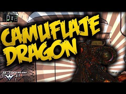 CAMUFLAJE DRAGÓN!! . Black Ops 2