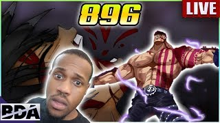 THE LAST MAN STANDING - One PIece Chapter 896 Live Reaction/Discussion Ft. Rogersbase
