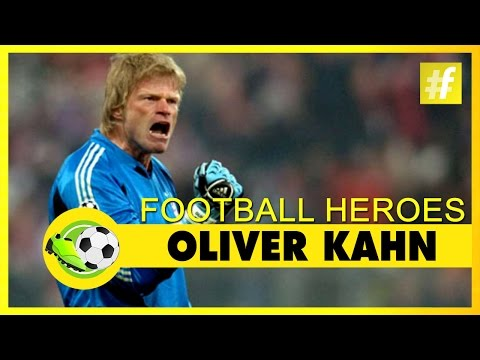 Oliver Kahn | Football Heroes | Full Documentary