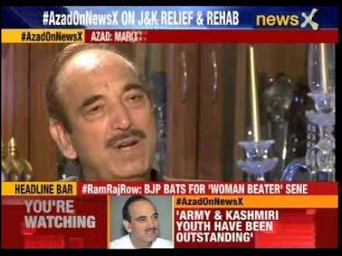 Exclusive interview with Congress leader Ghulam Nabi Azad