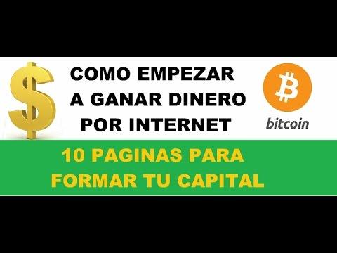 Tutorial Novatos - Como Empezar a Ganar Dinero Por Internet Sin Invertir Nada | Top 10 Paginas