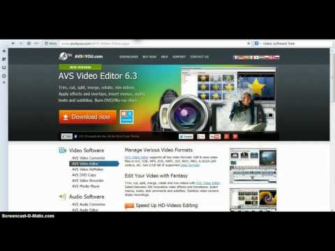 AVS Video Editor 6.3