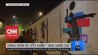 Warna-Warni Ibu Kota Sambut Asian Games 2018