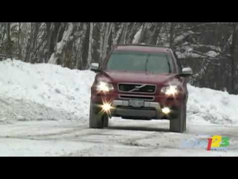 Title: 2009 Volvo XC90 R V8 AWD Review by Auto123.com; Runtime: 2:46; Rating