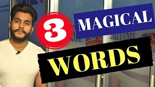 3 magical words to speak english | See Feel Speak | Spoken English Lesson