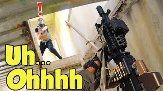 Airsoft LMG will Shake $1,800 OUT of your Wallet | Tokyo Marui Mark 46 Mod 0 NGRS at SC Village