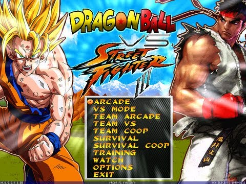 Dragon Ball Z Vs Street Fighter  by Dbz Supakid[ Full Game]