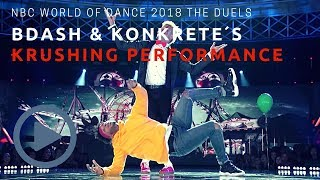 NBC World of Dance 2018 BDash & Konkrete´s The Duels Full Performance