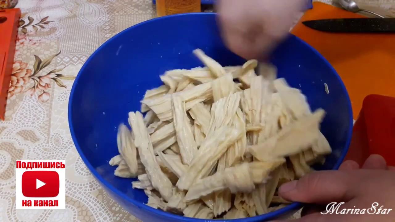 Маринованная спаржа по-корейски рецепт