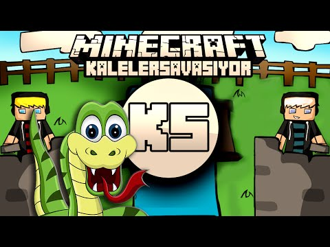Minecraft: NDNG Kaleler Savaşıyor - YILAN KALESİ
