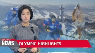 S. Korea adds two silver medals on final day of 2018 PyeongChang Winter Olympics