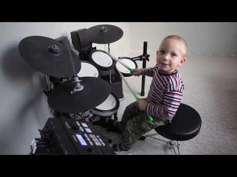 Szymon Urbanowicz - 3 Years Old Drummer