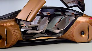 BMW Vision INTERIOR Review New BMW Self Driving Car World Premiere BMW Vision NEXT 100 2016 CARJAM