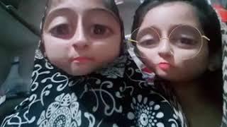 Funny video by sanam sheikh and fozia sheikh