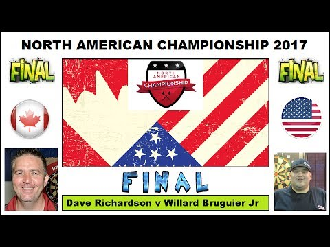 Final & Presentation: Dave Richardson v Willard Bruguier Jr - 2017 North American Championship HD