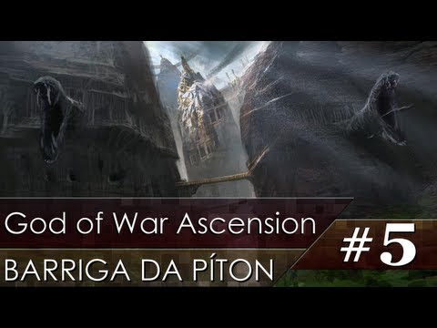 God of War Ascension #5 - Barriga da Píton