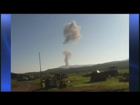F15C fighter jet from Barnes ANGB crashes in Virginia