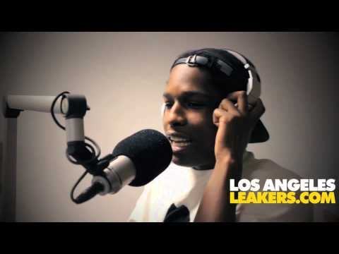 ASAP Rocky L.A. Leakers Freestyle!