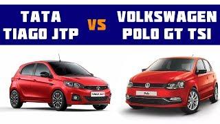 Tata Tiago JTP vs Volkswagen Polo GT-Car Compare