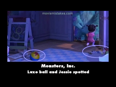 Monsters, Inc  movie mistakes 2001