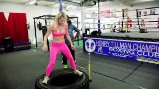 Workout in L.A | Boxing at Henry Tillman Boxing Club