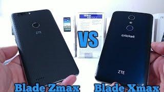 ZTE Blade Zmax Metro PCS vs ZTE Blade Xmax Cricket Wireless Speed Test