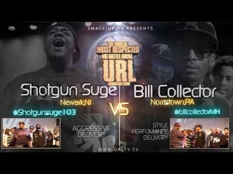 SMACK/ URL PRESENTS SHOTGUN SUGE vs BILL COLLECTOR Music Videos