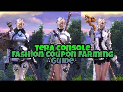 Tera Console - How To Farm Fashion Coupons