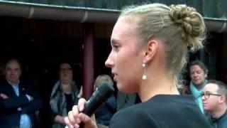video uit Fan van Hamont-Achel - Huldiging Elise Mertens