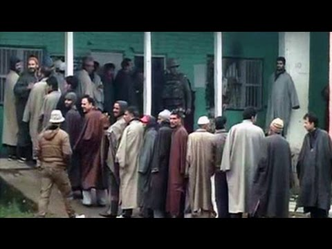 Voters brave the cold to vote in Jammu and Kashmir; polling in Jharkhand too