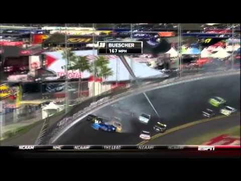 Nascar 2012 crashes 1