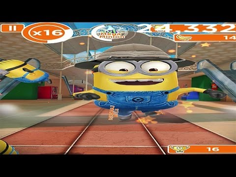 Despicable Me: Minion Rush - The Mall - Gameplay HD