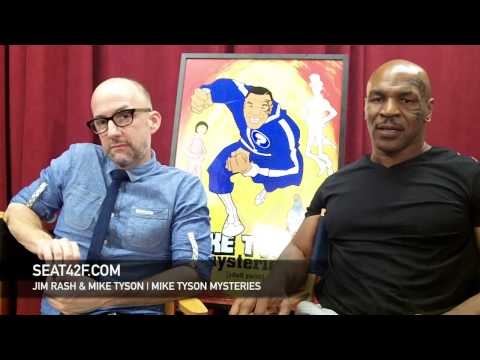 Jim Rash & Mike Tyson Interview Mike Tyson Mysteries