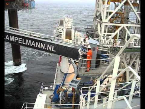 Skandi Constructor as accommodation support vessel.wmv