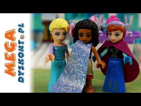 Goście w Lodowym Zamku - Klocki: Lego Vaiana Skarb Oceanu & Lego Frozen - Bajki dla dzieci