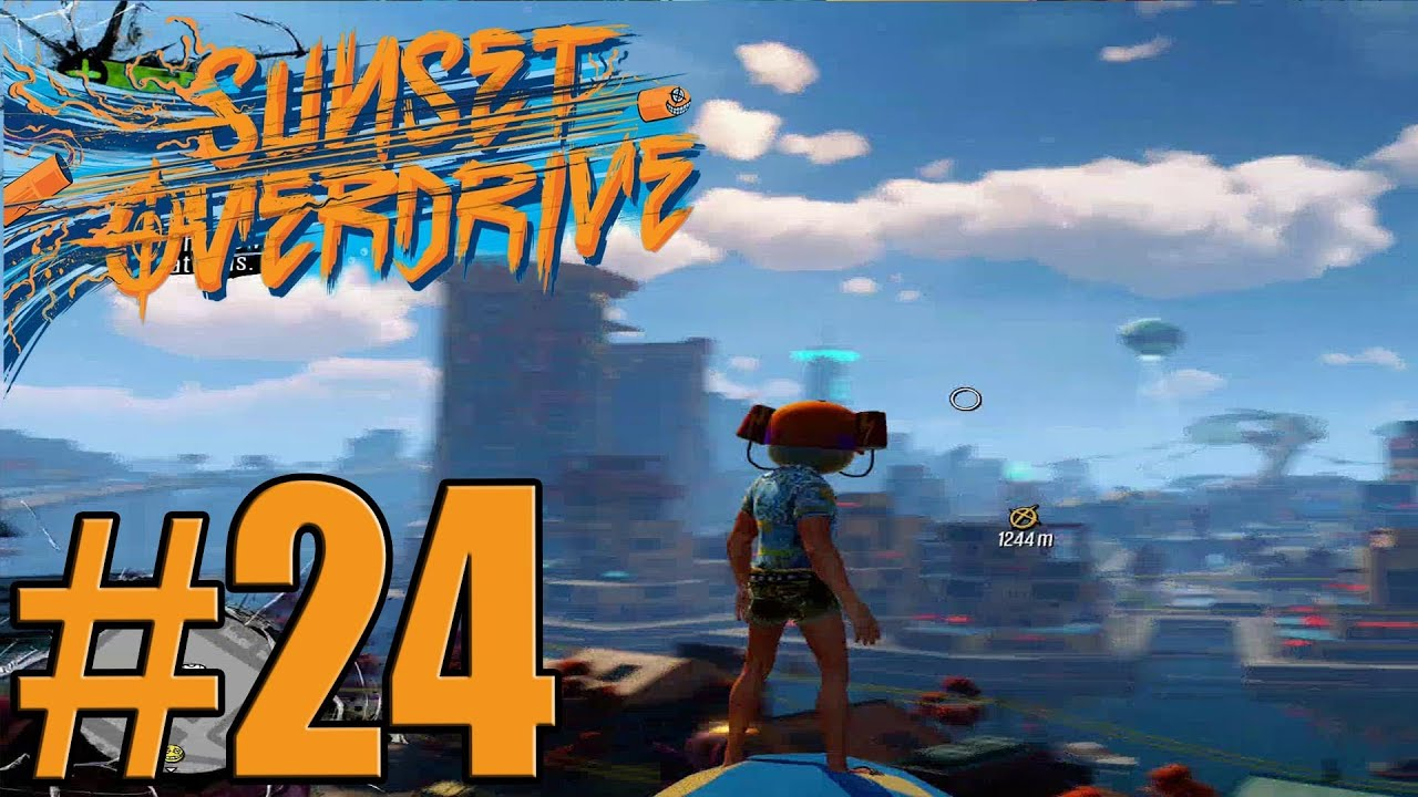 sunset overdrive walkthrough part - photo #45