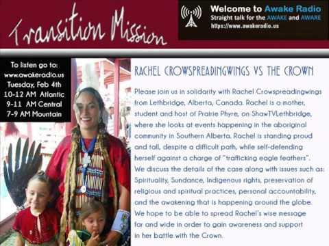 Rachel Crowspreadingwings vs The Crown- Transition Mission - Awake Radio
