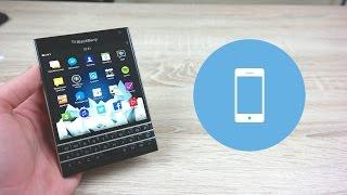 BlackBerry Passport Recenzja Test Review PL