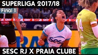 download musica SESC RIO X PRAIA CLUBE AO VIVO FINAL 1 SUPERLIGA 1718